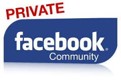 Private FB group Community